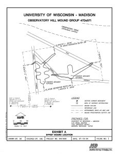 Map of Observatory Hill mound group