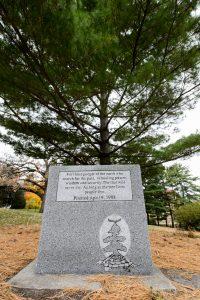 Tree of Peace marker