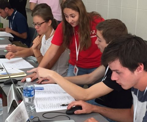 Group advising during 2016 SOAR